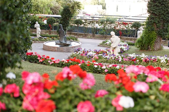 Giardini di Augusto capri fiori