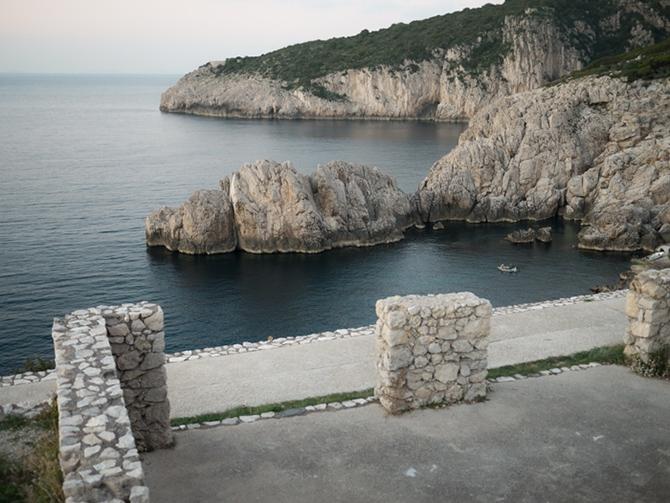 il mare del Faro di Punta Carena ad Anacapri