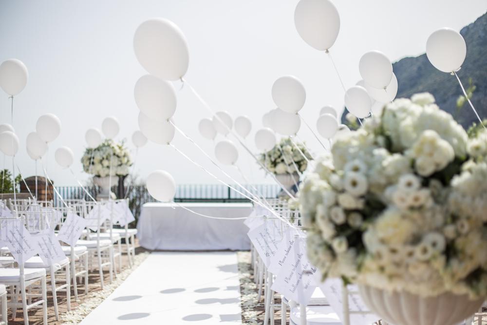 scegliere un fotografo di matrimonio a Capri giardini di augusto cerimonia