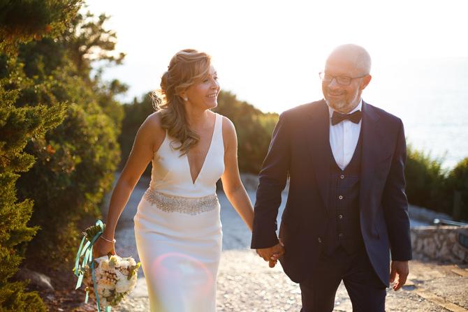 Foto di matrimonio sposa sposo foto di coppia faro di punta carena