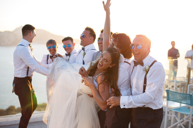 Foto di matrimonio Capri Sorrento sposa